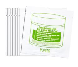 Очищающий увлажняющий пэд с центеллой PURITO Centella Green Level All In One Mild Pad