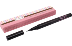 Подводка для глаз черная RIVECOWE Beyond Beauty Flexible Liquid Brush Pen Eyeliner Black