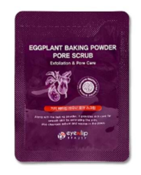 Скраб с экстрактом баклажана EYENLIP Eggplant Baking Powder Pore Scrub пробник