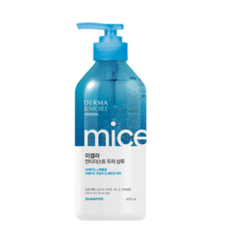Шампунь для волос Derma & More Micellar Anti Dust Scalp Shampoo Мицеллярный