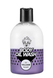 Двухфазный гель-масло для душа с ароматом пачули Village 11 Factory Relax Day Body Oil Wash [Violet]