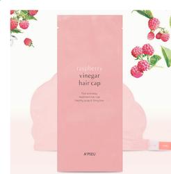 Маска-шапочка для волос A'pieu Raspberry Vinegar Hair Cap