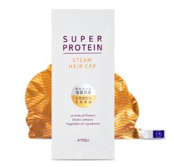 Маска-шапочка для волос A'Pieu Super Protein Steam Hair Cap