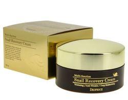 Крем восстанавливающий с фильтратом слизи улитки DEOPROCE Snail Recovery Cream