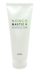 Успокаивающая гелевая пенка для умывания A'PIEU Nonco Mastic Relaxing Gel Foam
