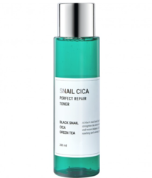 Тонер для лица с муцином улитки и центеллы Esthetic House Snail cica perfect repair toner