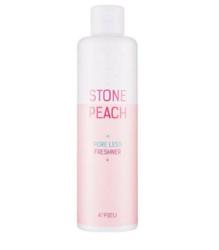 Тонер для сужения пор A'Pieu Stone Peach Pore Less Freshner