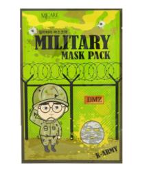 Мужская увлажняющая тканевая маска для лица Mijin Military Mask