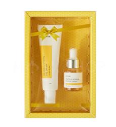Набор крем для глаз и сыворотка для лица с прополисом IUNIK Propolis Vitamin Eye Cream Set