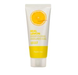 Пилинг-гель для лица с экстрактом лимона Farmstay Real Lemon Deep Clear Peeling Gel