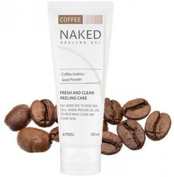 Тонизирующий гоммаж с экстрактом кофе A'Pieu Naked Peeling Gel Coffee