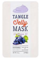 Антивозрастная тканевая маска с экстрактом винограда A'PIEU Tangle Jelly Mask Grape