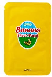 Маска тканевая банановая с медом A'PIEU Banana&Honey Sheet Mask