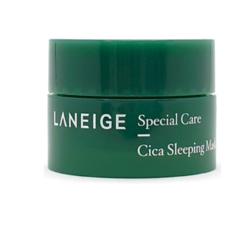 Миниатюра ночной успокаивающей маски для лица LANEIGE Sleeping Mask Cica Mini