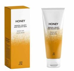 Маска для лица МЕД J:ON Honey Wash Off Mask Pack