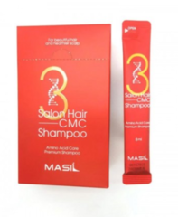 Миниатюра шампуня с керамидами MASIL 3 Salon Hair CMC Shampoo