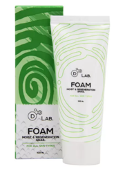 Пенка для умывания D2 Lab Foam Moist & Regeneration Snail