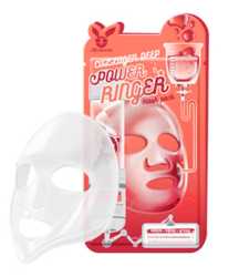 Тканевая маска Elizavecca Collagen Deep Power Ringer Mask Pack