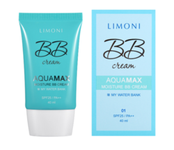 ББ-крем для лица увлажняющий Limoni Aquamax Moisture BB Cream 01