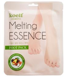 Смягчающая маска-носочки для стоп KOELF Melting ESSENCE Foot Pack