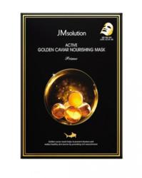 Тканевая маска с золотом и икрой JMsolution Active Golden Caviar Nourishing Mask Prime
