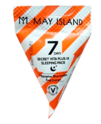 Ночная витаминная маска MAY ISLAND 7 Days Secret Vita Plus-10 Sleeping Pack