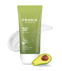 Солнцезащитный крем с авокадо FRUDIA Avocado Greenery Relief Sun Cream SPF50+ PA++++