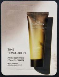 Очищающая пенка-маска для лица MISSHA Time Revolution Artemisia Pack Foam Cleanser пробник