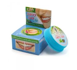 Круглая отбеливающая зубная паста 5 STAR, мята и гвоздика