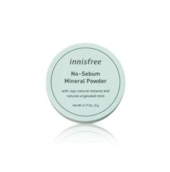Бесцветная матирующая рассыпчатая пудра для лица Innisfree No Sebum Mineral Powder