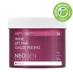 Пилинг-пэды с вином и кислотами Neogen Wine Lift PHA Gauze Peeling