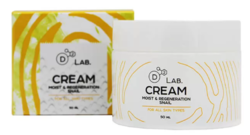 Крем для лица D2 Lab Cream Moist & Regeneration Snail