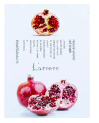 Тканевая маска для лица с экстрактом граната L'arvore Nature Source Cell Mask Pomegranate