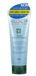 Шампунь для волос и кожи головы тонизирующий Welcos Around Me Scalp Refreshing Shampoo
