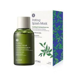 Восстанавливающая сплеш-маска с зеленым чаем BLITHE Patting Splash Mask Soothing Healing Green Tea