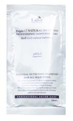 Пробник Бессульфатный органический шампунь с эфирными маслами Lador Triplex Natural Shampoo