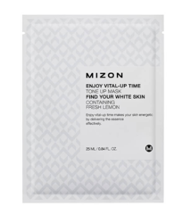 Осветляющая тканевая маска для лица MIZON Enjoy Vital Up Time Tone Up Mask