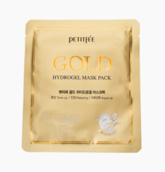 Гидрогелевая маска для лица с золотом Petitfee Gold Hydrogel Mask