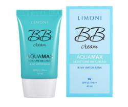 ББ-крем для лица увлажняющий Limoni Aquamax Moisture BB Cream 02