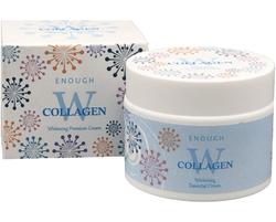 Крем для лица отбеливающий W Collagen Whitening Premium Cream Enough