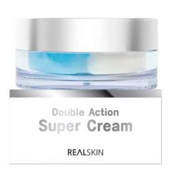 Крем двойного действия для увлажнения и питания кожи Realskin Double Action Super Cream