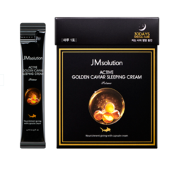 Ночной крем с золотом и икрой JM Solution Active golden caviar sleeping cream