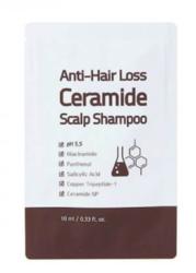Шампунь с керамидами против выпадения волос TRIMAY Anti Hair Loss Ceramide Scalp Shampoo пробник