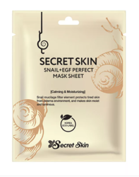 Увлажняющая тканевая маска с экстрактом улитки Secret Skin Snail & EGF Perfect Mask