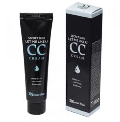 СС-крем для выравнивания тона кожи Secret Skin Let Me Like U CC Cream SPF50+ PA+++