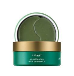 Универсальные успокаивающие патчи с маслом аллигатора Trimay Alligator & Cica Hydrogel Eye Patch