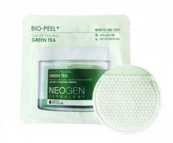 Успокаивающие пилинг-пэды с зеленым чаем Neogen Dermalogy Bio-Peel Gauze Peeling Green Tea