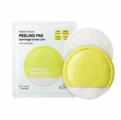 Очищающий скраб-спонж Scinic Feel So Good Peeling Pad Gommage Scrub Care