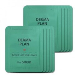Пробник THE SAEM Derma Plan Green Calming Cream