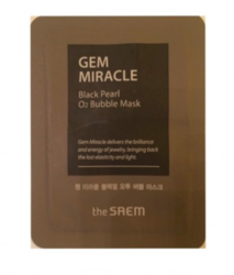 Пробник The Saem Gem Miracle Black Pearl 02 Bubble Mask